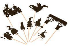 sprookjesachtig schimmenspel 'kasteel' Moulin Roty   kinderen-shop Kleine Zebra.    Joelle