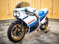 Suzuki Gsx R 750, Suzuki Bikes, Gsxr 750, Suzuki Motorcycle, Custom Street Bikes, Custom Bikes, Vintage Motorcycles, Custom Motorcycles, Retro Bike