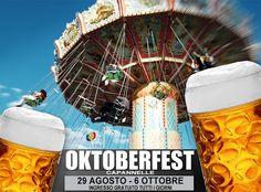 dal 29 agosto tornerà l'Octoberfest Capannelle che ci accompagnerà per tutto il mese di settembre fino al 6 ottobre