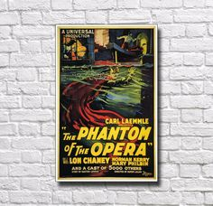 The Phantom Of The Opera Movie Poster 11 x by PosterAndPrintPlace