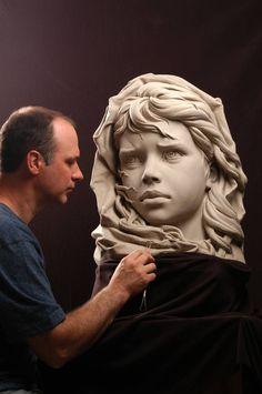 Esculturas. - ForoCoches   Philippe Faraut My ceramic artist hero! His clay busts and figures are so real they look alive