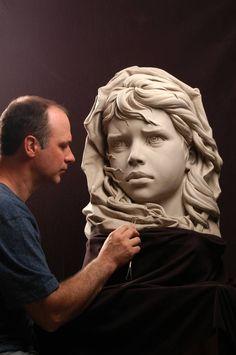 Philippe Faraut - Portrait #Sculptor