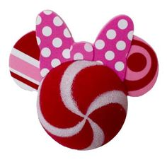 52072dfb2e43a Disney Antenna Topper - Minnie Mouse Holiday Peppermint Swirl. Disney  Christmas DecorationsDisney OrnamentsMickey ...