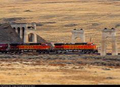 RailPictures.Net Photo: BNSF 5159 BNSF Railway GE C44-9W (Dash 9-44CW) at Lind, Washington by Steven M. Welch