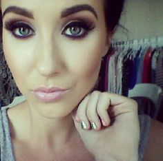 Jaclyn Hill. I might be a little obsessed with her and her tutorials. Girl crush. Don't judge me.