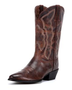ariat heritage western r toe boot in sassy brown {just got this!}