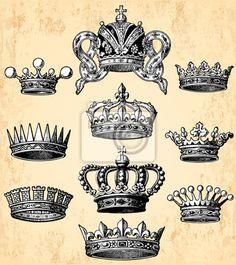 50 Meilleures Images Du Tableau Couronne Wreath Tattoo Crown
