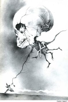 One of my favorite pictures ever, from Scary Stories to Tell in the Dark.
