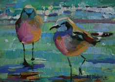 impressionist bird paintings | Daily Paintings By Elizabeth Blaylock, American Impressionist: April ...