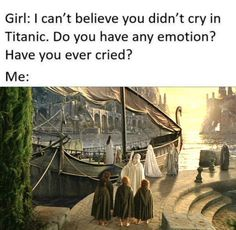 I'm going to cry myself to sleep Funny Relatable Memes, Stupid Funny Memes, J. R. R. Tolkien, Chronicles Of Narnia, Book Memes, Legolas, Middle Earth, Lord Of The Rings, Lotr