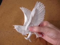 easy origami eagle   Art Design and Craft