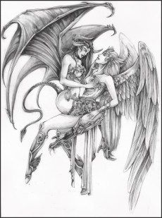 Angel Tattoos Designs, Ideas and Meaning | Tattoos For You#angel #tattoo #tattooideas