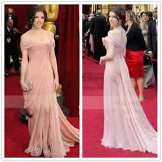 Cheap 2014 New Arrival Red Carpet Dress Sexy Mermaid Off the Shoulder Flowers Lace Pleated Chiffon Long Evening Celebrity Dress
