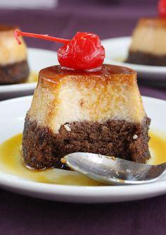 Mini Cakes, Cupcake Cakes, Cupcakes, Chocoflan Recipe, Brocolli, Creme Caramel, Mini Desserts, Let Them Eat Cake, Deli