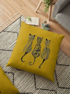 « 3 cats - 3 chats - 3 gatos - chats - gatos-kitty » par LEAROCHE
