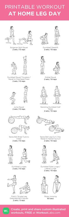 At-home leg day workout. Build custom workout routines or browse pre-made workouts At-home leg day workout. Build custom workout routines or browse pre-made workouts Fitness Workouts, Leg Day Workouts, Sport Fitness, At Home Workouts, Fitness Tips, Health Fitness, Leg Exercises, Fitness Equipment, Leg Workout At Home