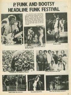 The 1979 Funk Fest at LA. Coliseum!
