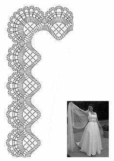 Velo novia Bobbin Lace Patterns, Lace Making, Textile Art, Tatting, Bobbin Lace, Shape, Lace Shawls, Embroidery Machines, Hand Embroidery