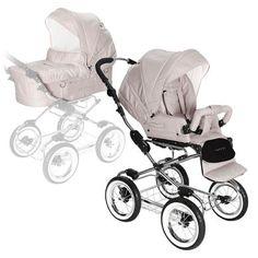 Jette Kinderwagen JUBILEE inkl. Sitzteil sand   baby-markt.de