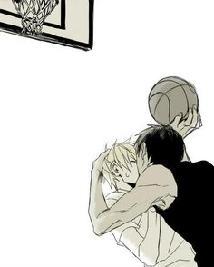 Kuroko's Basketball (Kuroko no Basuke) - Daiki Aomine x Ryouka Kise - AoKise
