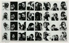 Exposition en temps réel n°4 : laisse sur ces murs un témoignage photographique de ton passage ], 1972 © Franco Vaccari
