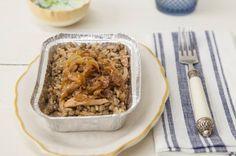Arroz sírio com frango e cebola caramelizada | Panelinha - Receitas que funcionam