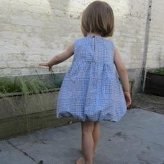 Girls Bubble Dress Pattern and Tutorial {Children's}