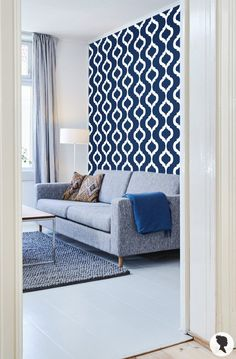 Modern removable wallpaper and traditional wallpaper designs. Visit our website to find the perfect temporary wallpaper for your next interior project! Moroccan Wallpaper, Modern Wallpaper, Print Wallpaper, Fabric Wallpaper, Wallpaper Designs, Moroccan Print, Moroccan Design, Herringbone Wallpaper, Scandinavian Wallpaper