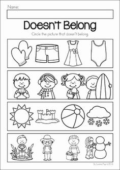 Printable Worksheets For Kids Speech Language School Ideas
