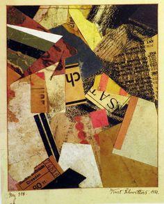Kurt Schwitters, Mixed Media Collage, Collage Art, Collage Ideas, Klimt, Renaissance, Modern Art, Contemporary Art, Conceptual Art