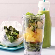 Looking to incorporate more greens into your diet but don't have the time? You can make these freezable smoothie packs ahead of time.