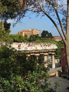 Plaza de la Naturaleza, Parc Güell, Barcelona