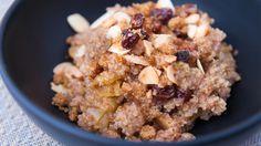 Buckwheat and Quinoa Granola
