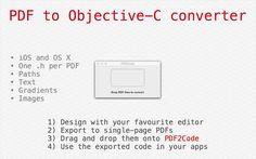 PDF2Code by Nigel Barber