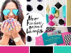 A Better Me · Rekita Nicole Graphic Design Inspiration, Color Inspiration, Moodboard Inspiration, Blog Design, Web Design, Brand Identity, Branding, Different Shades Of Pink, Brand Board