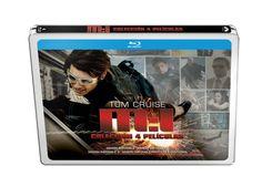 ¡Consigue un pack con las 4 películas de la saga  MISIÓN IMPOSIBLE en Blu-Ray!