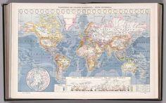 Atlas Larousse Illustre. Librairie Larousse, Paris. (first unillustrated title page) Atlas Larousse Illustre. 42 Cartes. - 1158 Reproductions photographiques, 1900