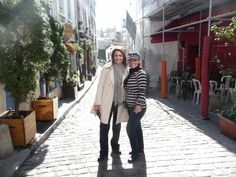Wandering around and exploring the streets of Montmartre