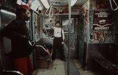Juxtapoz Magazine - Best of 2014: Christopher Morris's 1980s NYC Subway Photos