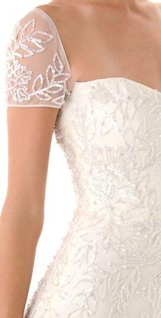Sequins + Silk. Gorgeous!