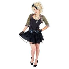 Charm Rainbow Womens Pop Star Costume Cosplay for Halloween Theme Party Tag a friend who would look good in this! Halloween Party Themes, Halloween Costumes, Pop Star Costumes, 80s Pop, Costumes For Women, Ballet Skirt, Rainbow, Cosplay, Charmed