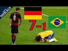 (5) Germany 7-1 Brazil 2014 World Cup Semi Final Highlight HD/720P - YouTube
