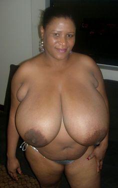 Ebony udders.