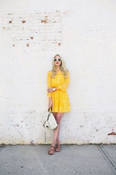 Pop of yellow.