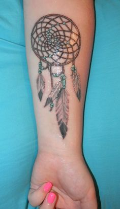 Dream Catcher Tattoo On Arm Delectable Dream Catcher Tattoo Would Look Good On My Left Shoulder Covering Decorating Inspiration