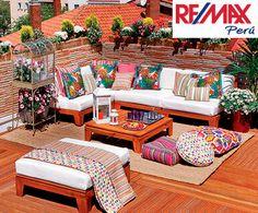 Summer deck staging ideas from Remax Peru