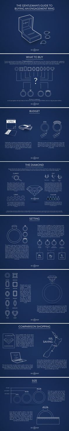 Choosing an engagement ring can be hard, so read these helpful tips before you head the jewellers