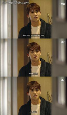 Ahn Min Hyuk in Strong Woman Do Bong Soon. I loved this moment Korean Drama Funny, Korean Drama Quotes, Strong Girls, Strong Women, Ahn Min Hyuk, Park Bo Young, Weightlifting Fairy Kim Bok Joo, Korean Actors, Korean Dramas