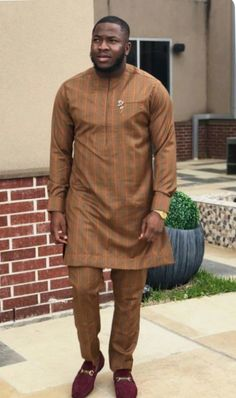 In this post, you'd get to see some of the hottest and coolest senator suit styles as sported by West African men in See them here African Wear Styles For Men, Ankara Styles For Men, African Shirts For Men, African Dresses Men, African Attire For Men, African Clothing For Men, African Women, African Style, Nigerian Men Fashion