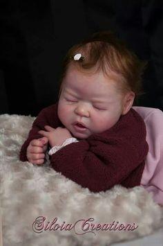 Adorable Chiara by Eva Brilli♥ Real Looking Baby Dolls, Cute Dolls, Dolls Dolls, Reborn Nursery, Realistic Baby Dolls, Lifelike Dolls, Reborn Baby Dolls, Primitive Country, Soap Molds